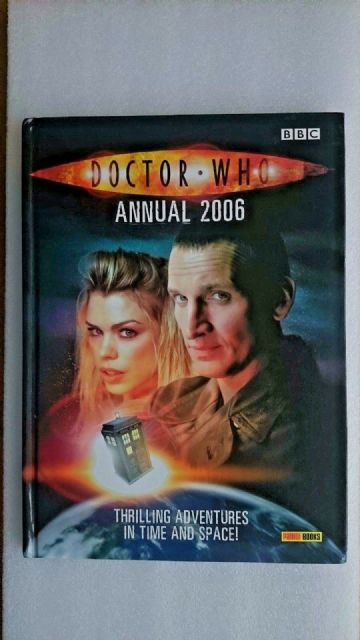 Doctor Who  Annual: 2006 by Panini Publishing Ltd (Hardback, 2005)